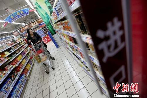 金融危机爆发十年来中国进口额增加5815亿美元